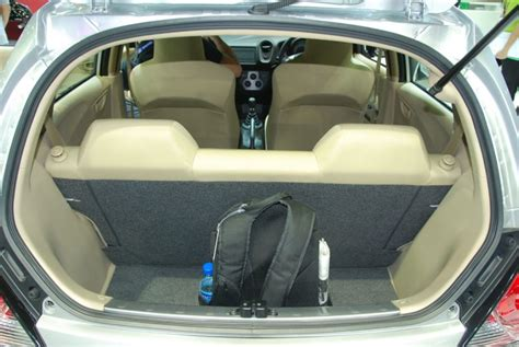 honda brio boot space review honda brio diesel car interior design