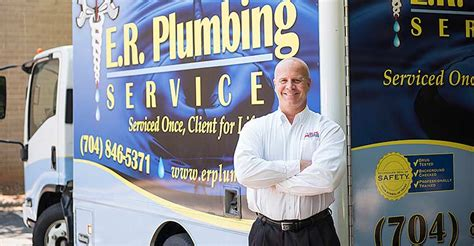 Plumbing Companies In Nc by About Us E R Plumbing Services