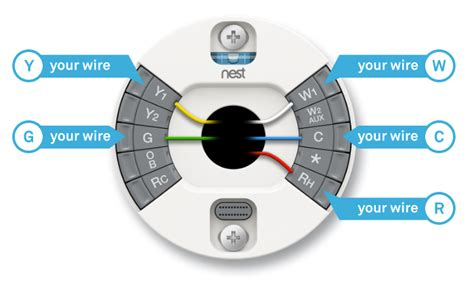 thermostat wire colors nest wiring diagram