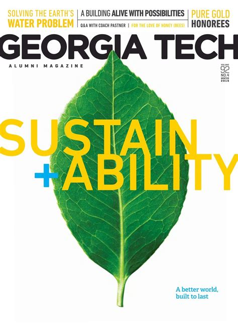Ga Tech Mba Class Profile by Newsletters At The C Center For Sustainable