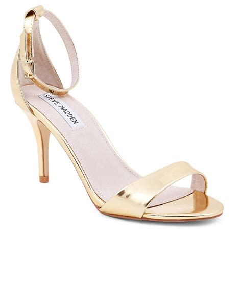 gold sandals steve madden steve madden gold heeled sandals price in india buy steve