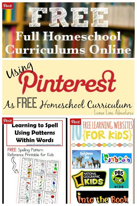 homeschool on pinterest pre school curriculum and home using pinterest as free homeschool curriculum
