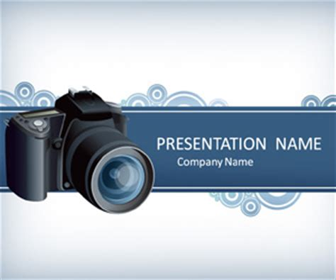 digital camera powerpoint template templateswise com