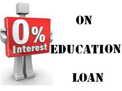 Education Loan For Mba Abroad by State Government Offers Interest Free Education Loans In