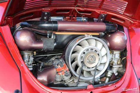 Vw K Fer Porsche Motor by Te Koop Vw K 196 Fer 1303 Cabrio Mit Porsche Teile Eur 45000