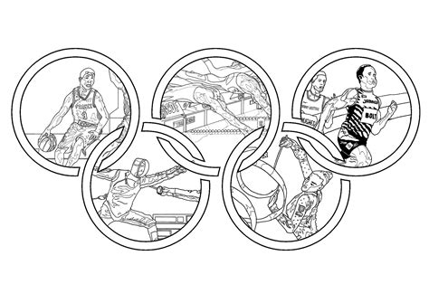 olympic coloring sheets olympic for olympic coloring pages