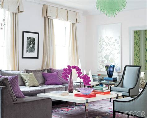 elle decor living room how to decorate the easy formula for a well designed room