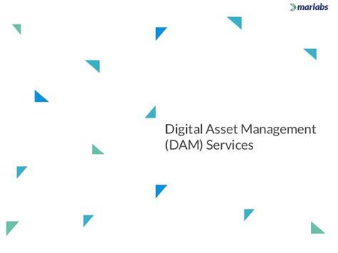 digital asset management workflow marlabs capabilities overview digital asset management dam