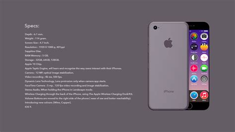 iphone new layout new iphone 7 amazing concept 2016 design
