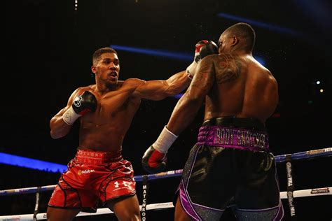 anthony joshua defeats dillian whyte  knockout