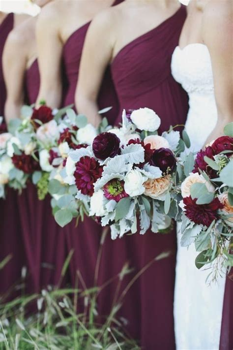 25 best ideas about burgundy silver wedding on silver wedding colour theme plum