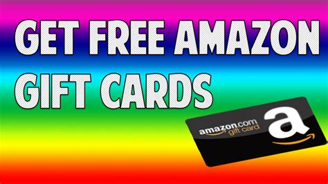 How To Get Amazon Gift Card For Free - how to get free amazon gift cards through bing youtube