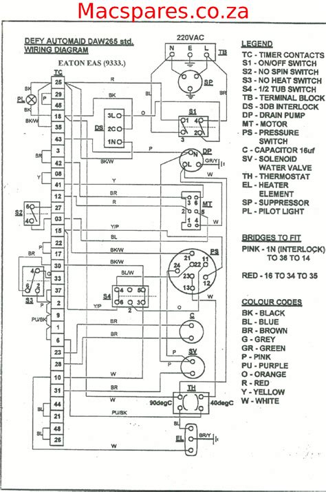 defy automaid washing machine wiring diagram wiring diagram