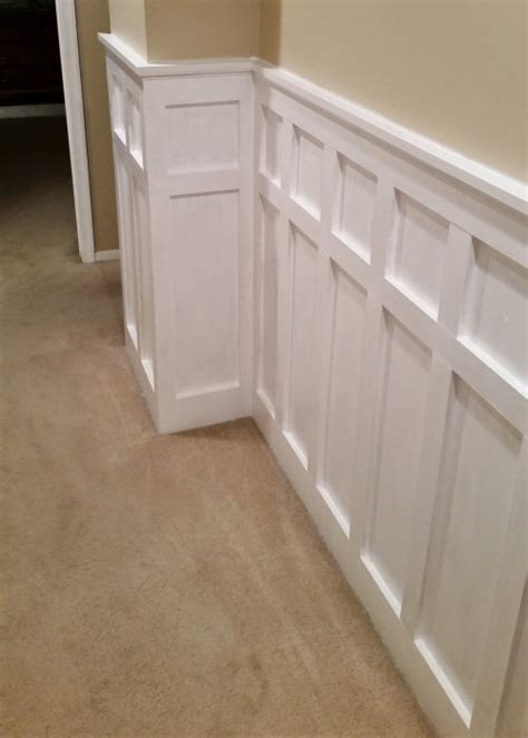 Wainscoting Patterns by How To Install Board And Batten Wainscoting White Painted