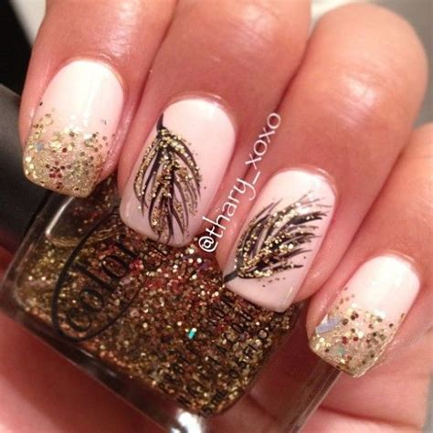 gold nail design 35 elegant and amazing white and gold nail art designs