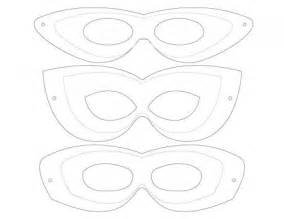 Free Printable Mask Templates by Best Photos Of Mask Templates Mask
