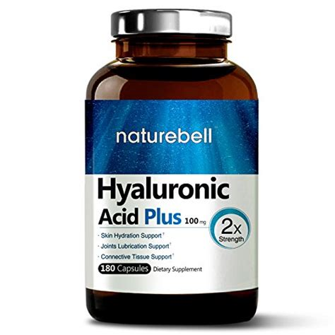 hydration joint maximum strength hyaluronic acid 100mg 180 capsules