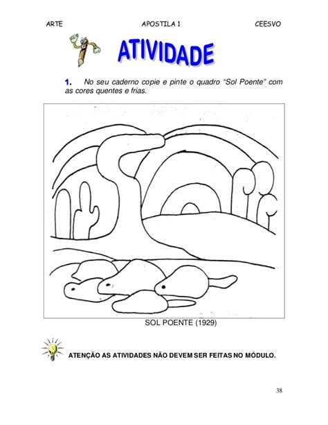 arte no ensino fundamental i apostila de arte ensino fundamental i
