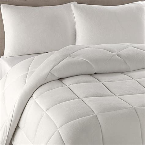 berkshire bedding berkshire blanket 174 microloft softer sleep comforter set in cream bed bath beyond