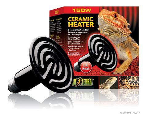 ceramic heat emitter vs heat l exo terra ceramic heat emitter 150w reptile