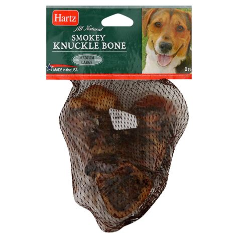 knuckle bones for dogs hartz knuckle bone smokey for medium large dogs 1 bone