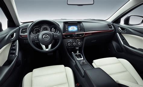 mazda interior car and driver