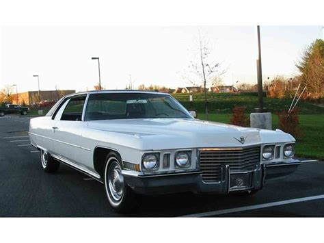 c cadillac 1972 cadillac coupe for sale classiccars