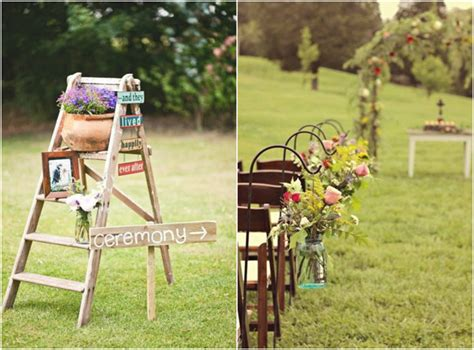 backyard country wedding ideas outdoor decoration ideas for rustic weddings