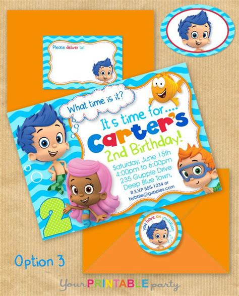 guppies invitations templates 109 best images about guppies on