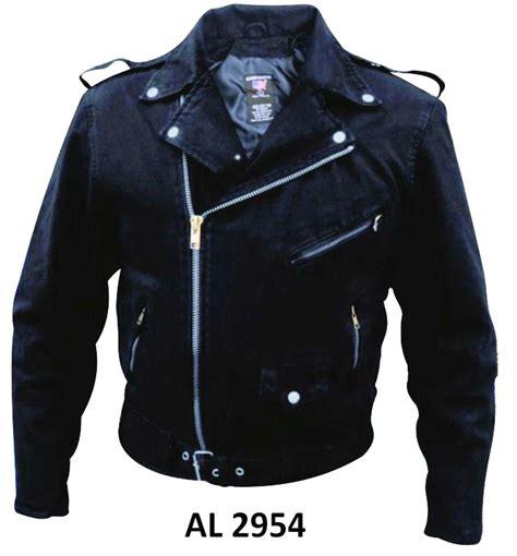 denim motorcycle jacket black denim cotton basic motorcycle biker jacket
