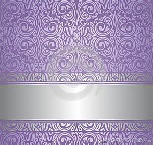 Violet and silver luxury vintage wallpaper stock images image