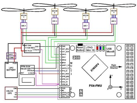 wiring diagram for quadcopter get free image about
