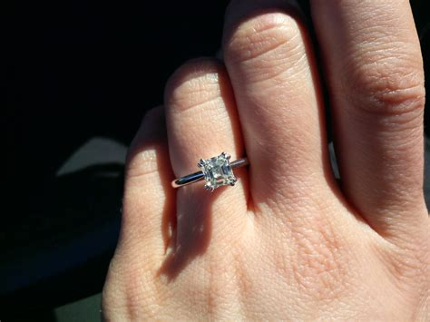 Wedding Finger by Show Me Engagement Rings On 5 5 Finger Weddingbee