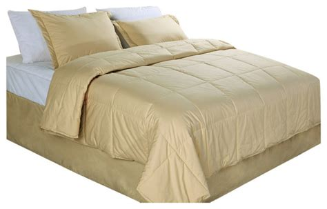 down filled comforter cottonloft all natural down alternative 100 cotton filled