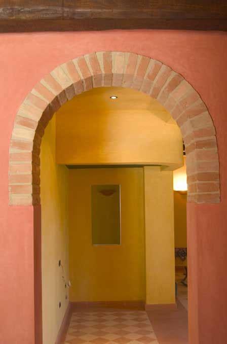 archi interni rivestimenti archi interni con mattoncini sogno immagine