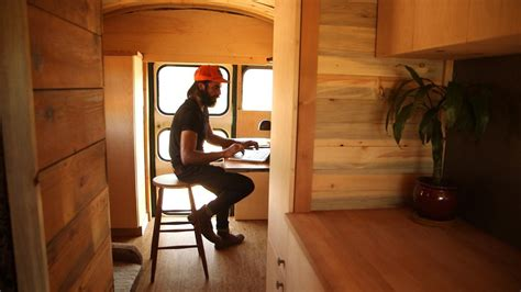 tiny house school bus tiny house big living these itsy bitsy homes are feature