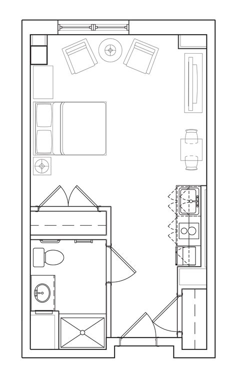 studio layout memory care floor plans for assisted living homes in ma