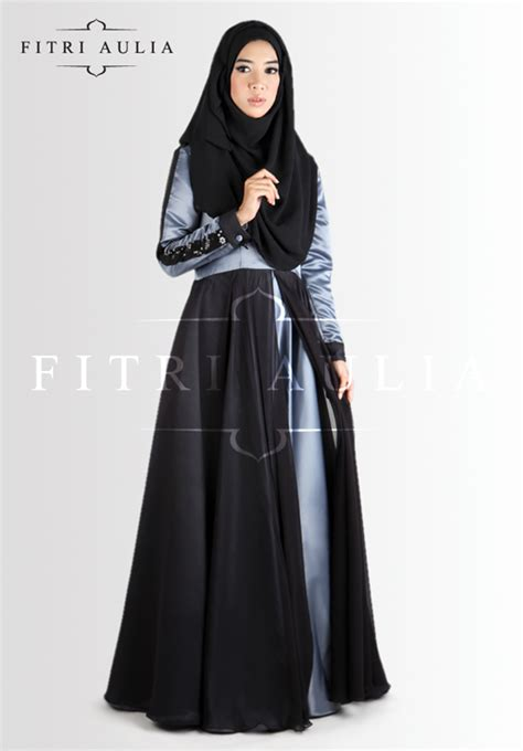 Dress Satin Hijaber Aulia 1000 images about abaya satin on abayas muslim fashion and couture