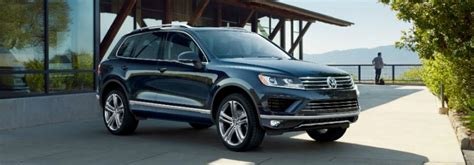 volkswagen touareg 2017 black 2017 volkswagen touareg interior and cargo volume