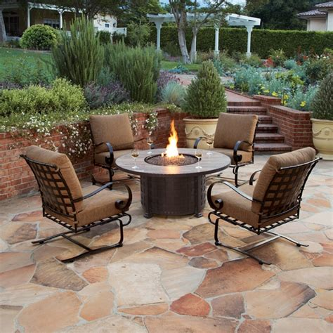 Firepit Chat Set Ow Classico W 5 Pit Chat Set Ow Classicow Set1
