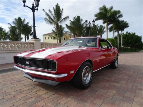 used camaro rs 1968 camaro rs ss 454 classic chevrolet camaro 1968 for