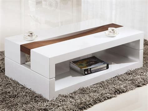 modern white coffee table set modern white coffee table with storage end set white end