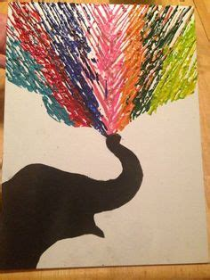 1000 images about construction paper crayon on pinterest inspired by singing in the rain silhouettes made from