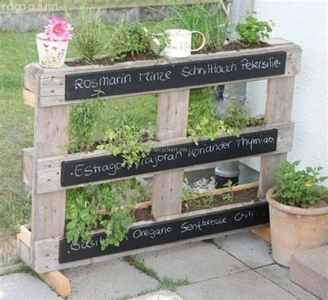 Garden Ideas With Pallets Pallet Garden Ideas Upcycle