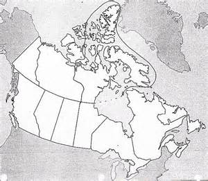 free blank map of canada canada maps