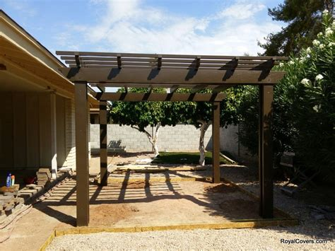 How To Build A Freestanding Patio Cover. Carports Vordcher