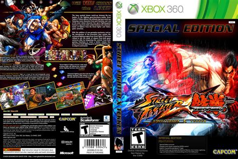 fighter vs tekken capa 2012 cover xbox 360 fighter x tekken xbox 360 covers fighter x tekken dvd ntsc custom f