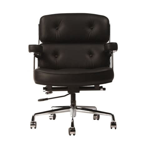 Charles Eames Lobby Chair - black eames style lobby chair cult uk