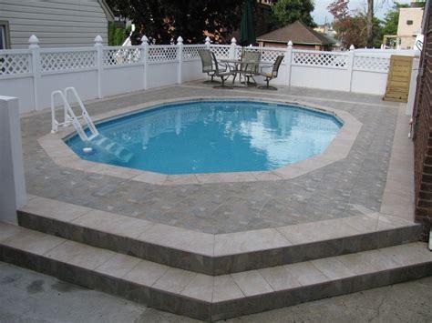 Swimming Pool: Cool Image Of Backyard Landscaping