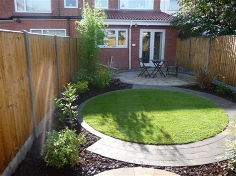 Small Landscaped Gardens Ideas Garden Design Ideas Small Rear Garden On Railway Sleepers Small Garden Design And